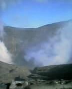 阿蘇の噴火口